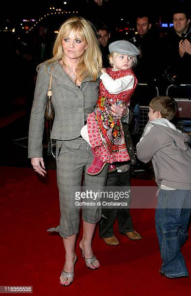 Daniella Westbrook with daughter Jodi during 'The Polar Express' London Premiere Arrivals at Vue Cinema Leicester Square in London Great Britain