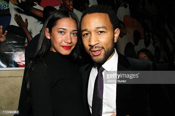 Danielle Abreu and John Legend during John Legend Album Once Again Release After Party Hosted by Unik and Francois Henry Bennahmias of Audemars...