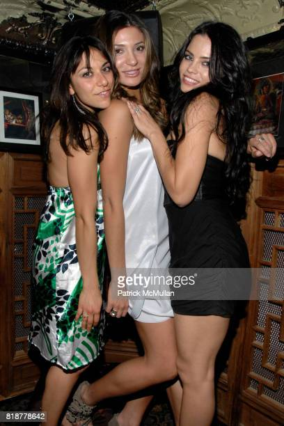 Danielle Amy and Jenna Dewan attend Chaning Tatum's 30th birthday party hosted by Neil Grayson and Reid Carolin at Macao Trading Company on April 24...