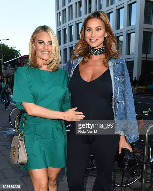 Danielle Armstrong and Ferne McCann attend Ann Summers a/w 2017 launch party on July 27 2017 in London England