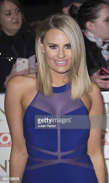 Danielle Armstrong attends the National Television Awards at The O2 Arena on January 25 2017 in London England