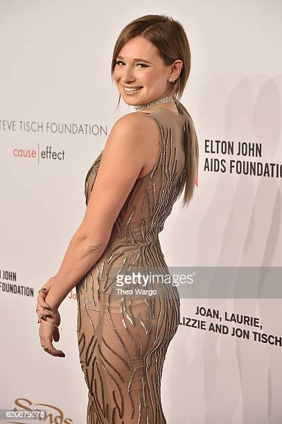 Danielle Bernstein attends 15th Annual Elton John AIDS Foundation An Enduring Vision Benefit at Cipriani Wall Street on November 2 2016 in New York...