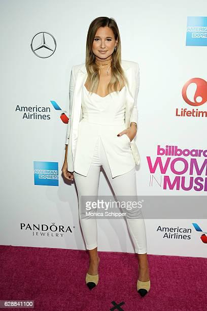 Danielle Bernstein attends Billboard Women In Music 2016 on December 9 2016 in New York City