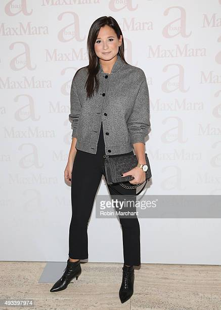Danielle Bernstein attends Max Mara Spring/Summer 2016 Accessories Campaign Celebration at Four Seasons Restaurant on October 19 2015 in New York City