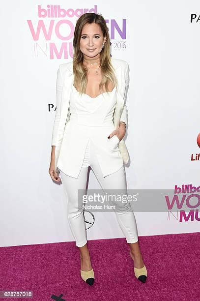 Danielle Bernstein attends the Billboard Women in Music 2016 event on December 9 2016 in New York City