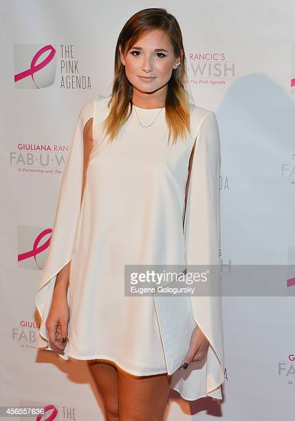 Danielle Bernstein attends The Pink Agenda 7th Annual Gala at IAC Building on October 2 2014 in New York City
