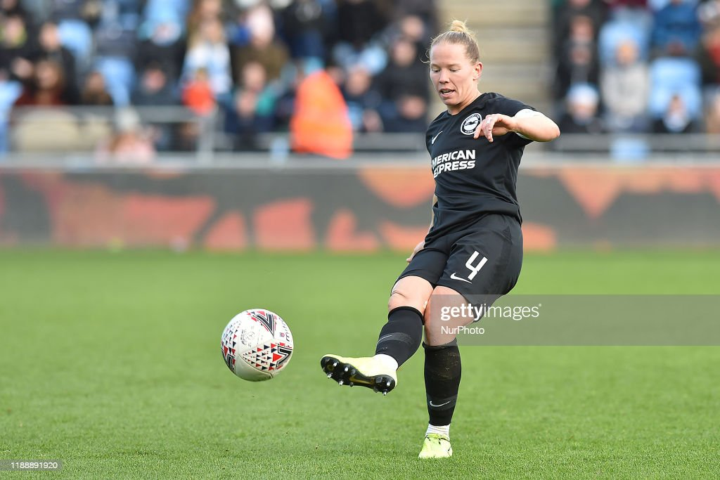 Manchester City v Brighton & Hove Albion - Barclays FA Women's Super League : Photo d'actualité