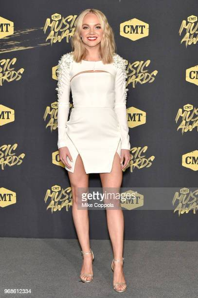 Danielle Bradbery attends the 2018 CMT Music Awards at Bridgestone Arena on June 6 2018 in Nashville Tennessee