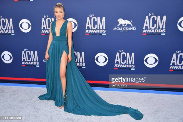Danielle Bradbery attends the 54th Academy Of Country Music Awards at MGM Grand Hotel Casino on April 07 2019 in Las Vegas Nevada
