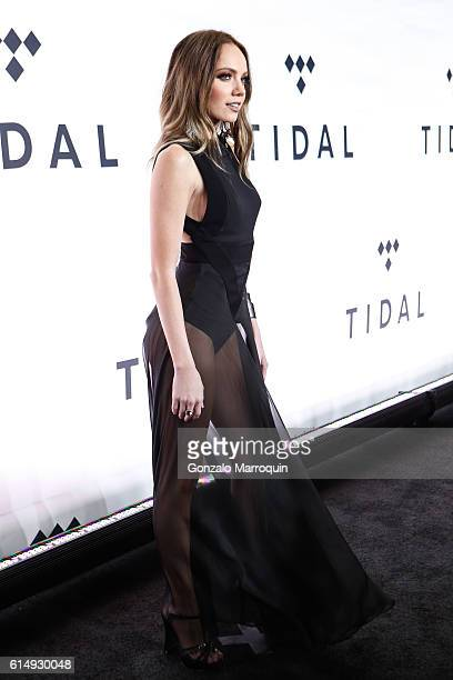 Danielle Bradbery attends the TIDAL's Second Annual Philanthropic Festival at Barclays Center of Brooklyn on October 15 2016 in New York City