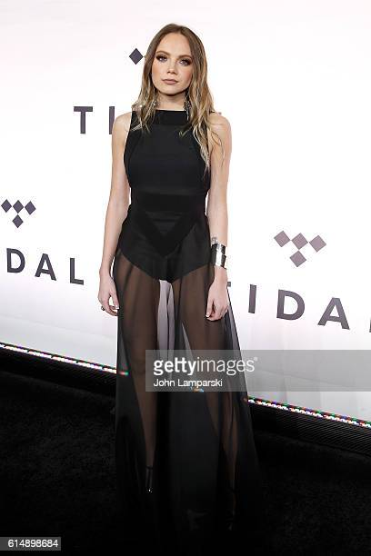 Danielle Bradbery attends TIDAL X 1015 at Barclays Center on October 15 2016 in New York City