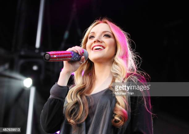 Danielle Bradbery performs onstage during the 2nd Annual ACM Party for a Cause Festival Day 1 held on April 4 2014 in Las Vegas Nevada