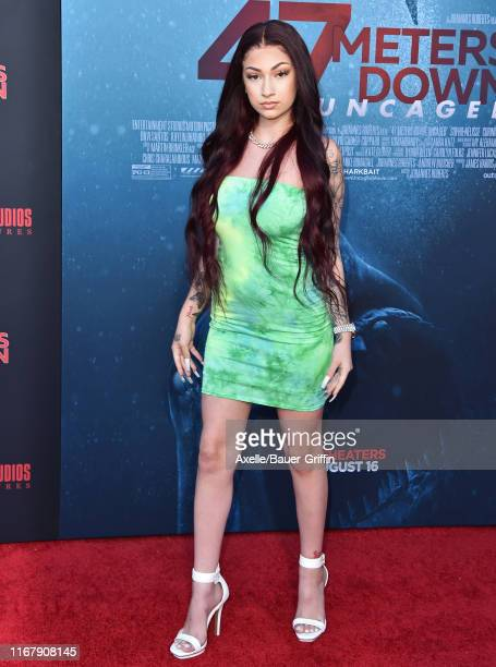 Danielle Bregoli attends the LA Premiere of Entertainment Studios' 47 Meters Down Uncaged at Regency Village Theatre on August 13 2019 in Westwood...