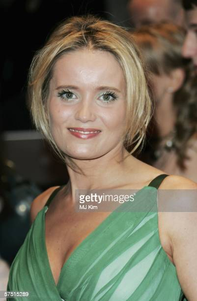 Danielle Brent arrives at the World Premiere of 'Three' at Odeon West End on May 2 2006 in London England