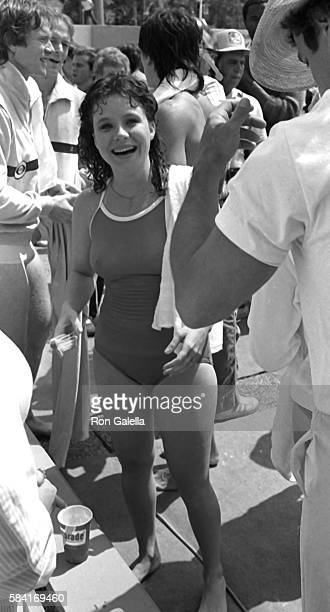 Danielle Brisebois attends the taping of Battle of the Network Stars on April 23 1983 at Pepperdine University in Malibu California