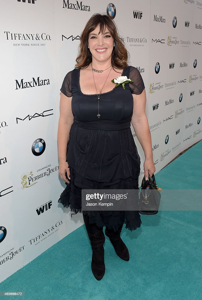 Danielle Brisebois attends Women In Film Pre-Oscar Cocktail Party presented by MaxMara, BMW, Tiffany & Co., MAC Cosmetics and Perrier-Jouet at Hyde Sunset Kitchen + Cocktails on February 20, 2015 in Los Angeles, California.