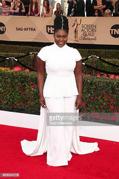 Danielle Brooks arrives at the 23rd Annual Screen Actors Guild Awards at The Shrine Expo Hall on January 29 2017 in Los Angeles California