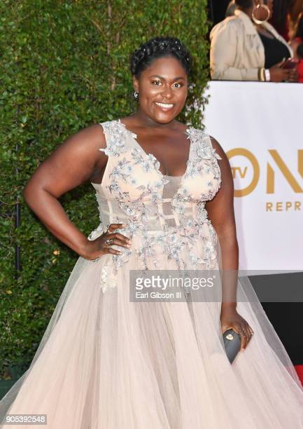 Danielle Brooks at the 49th NAACP Image Awards on January 15 2018 in Pasadena California