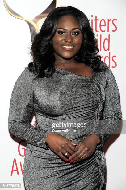 Danielle Brooks attends 69th Writers Guild Awards at Edison Ballroom on February 19 2017 in New York City