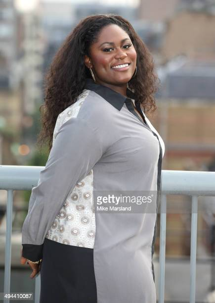"""Danielle Brooks attends a photocall to launch season 2 of Netflix exclusive series """"Orange Is The New Black"""" on May 29, 2014 in London, England."""