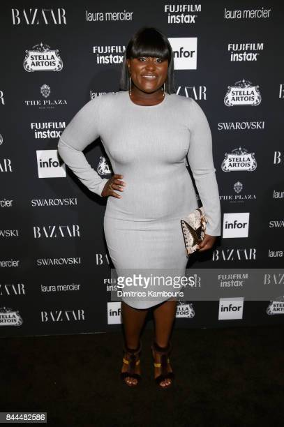 Danielle Brooks attends Harper's BAZAAR Celebration of 'ICONS By Carine Roitfeld' at The Plaza Hotel presented by Infor Laura Mercier Stella Artois...