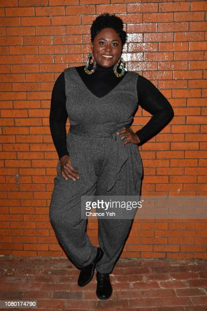 Danielle Brooks attends Slave Play opening night reception at B Bar and Grill on December 09 2018 in New York City