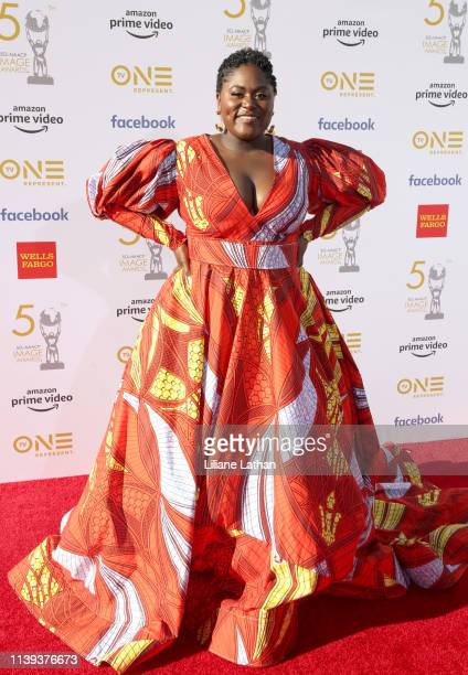 Danielle Brooks attends the 50th NAACP Image Awards at Dolby Theatre on March 30 2019 in Hollywood California