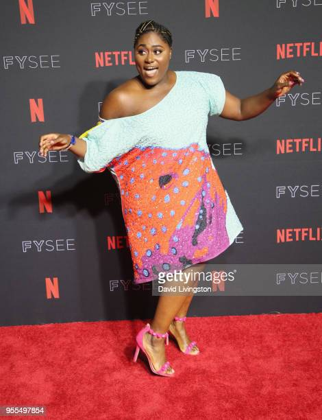 Danielle Brooks attends the Netflix FYSEE KickOff at Netflix FYSEE At Raleigh Studios on May 6 2018 in Los Angeles California