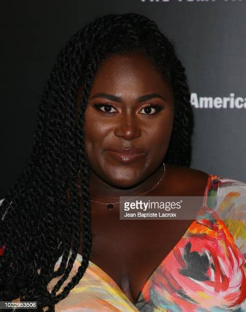 Danielle Brooks attends the Opening Night of 'Ain't Too Proud The Life And Times Of The Temptations' at the Ahmanson Theatre on August 24 2018 in Los...