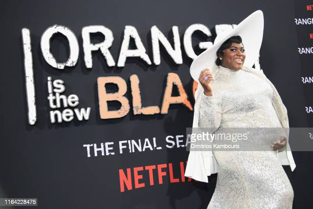 Danielle Brooks attends the Orange Is The New Black Final Season World Premiere at Alice Tully Hall Lincoln Center on July 25 2019 in New York City