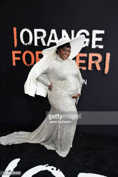 """Danielle Brooks attends the """"Orange Is The New Black"""" Final Season World Premiere at Alice Tully Hall, Lincoln Center on July 25, 2019 in New York..."""