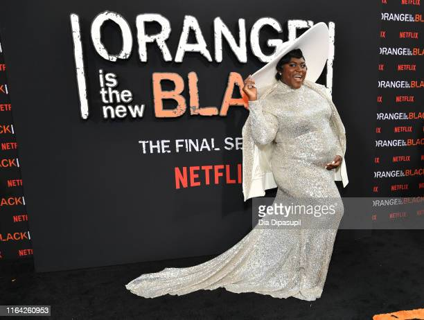 Danielle Brooks attends the Orange is the New Black Season 7 World Premiere Screening and Afterparty 2019 on July 25 2019 in New York City