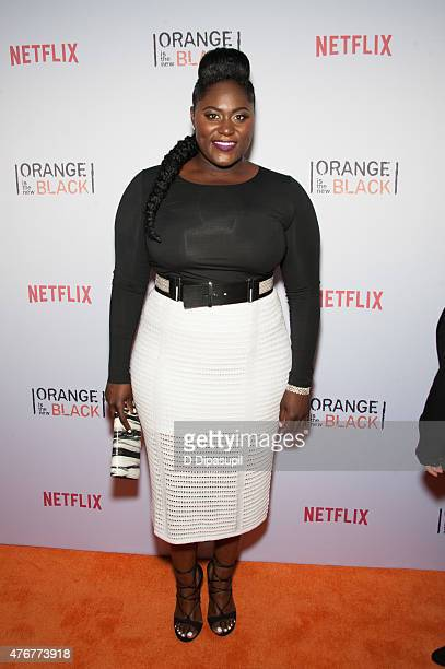 Danielle Brooks attends the 'Orangecon' Fan Event at Skylight Clarkson SQ on June 11 2015 in New York City