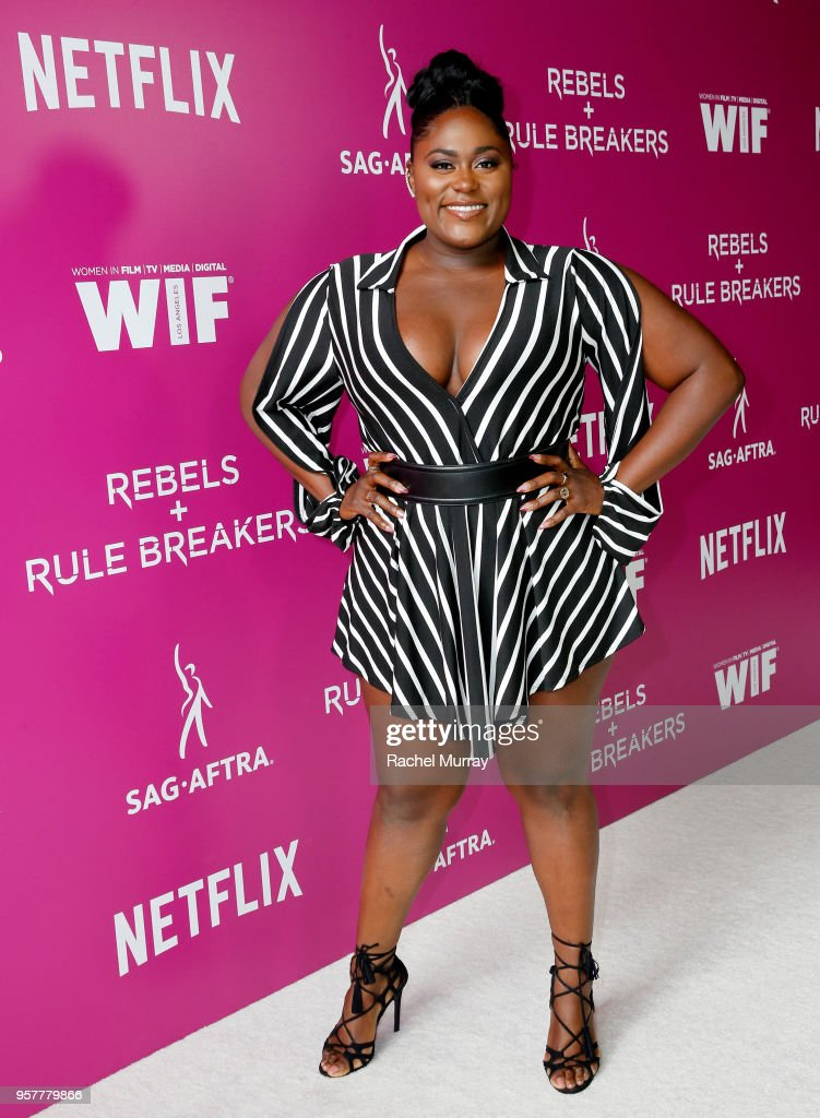 Danielle Brooks attends the Rebels and Rule Breakers Panel at Netflix FYSEE at Raleigh Studios on May 12, 2018 in Los Angeles, California.