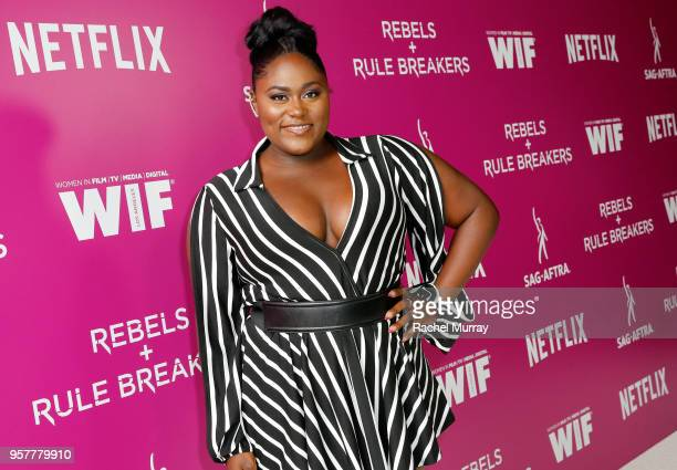 Danielle Brooks attends the Rebels and Rule Breakers Panel at Netflix FYSEE at Raleigh Studios on May 12 2018 in Los Angeles California
