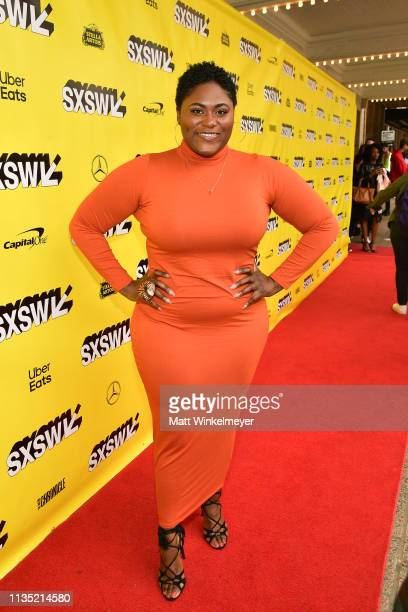 Danielle Brooks attends the The Day Shall Come Premiere 2019 SXSW Conference and Festivals at Paramount Theatre on March 11 2019 in Austin Texas