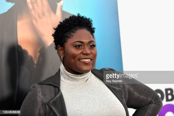 Danielle Brooks attends the world premiere of 'Nobody's Fool' at AMC Lincoln Square Theater on October 28 2018 in New York New York