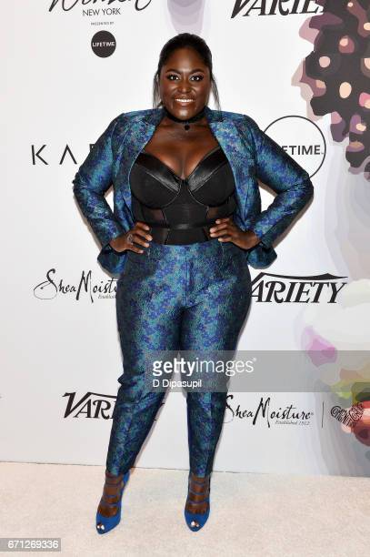 Danielle Brooks attends Variety's Power of Women New York at Cipriani Midtown on April 21 2017 in New York City