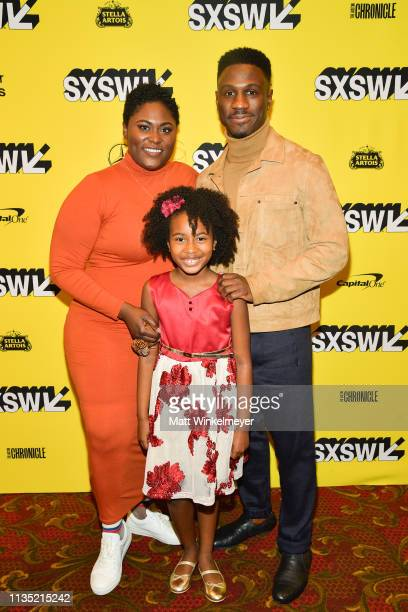 Danielle Brooks Calah Lane and Marchánt Davis attend the The Day Shall Come Premiere 2019 SXSW Conference and Festivals at Paramount Theatre on March...