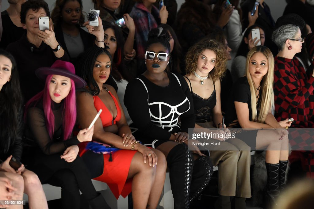 Chromat - Front Row - February 2017 - New York Fashion Week Presented By MADE : News Photo