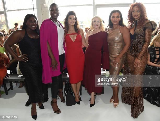 Danielle Brooks Leslie Jones Gina Gershon Patricia Clarkson Vanessa Williams and Jillian Hervey attend the Christian Siriano fashion show during New...