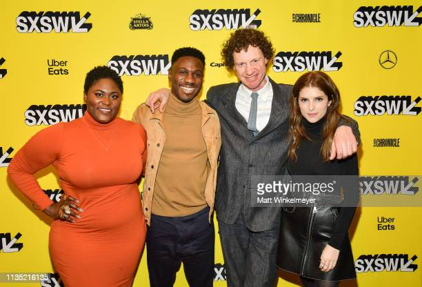 Danielle Brooks Marchánt Davis Chris Morris and Anna Kendrick attend the The Day Shall Come Premiere 2019 SXSW Conference and Festivals at Paramount...