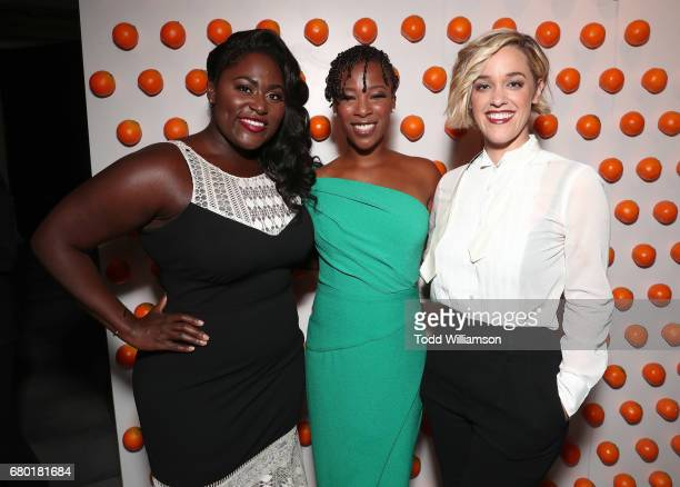 Danielle Brooks Samira Wiley and Lauren Morelli attend the Netflix FYSEE KickOff Event at Netflix FYSee Space on May 7 2017 in Beverly Hills...