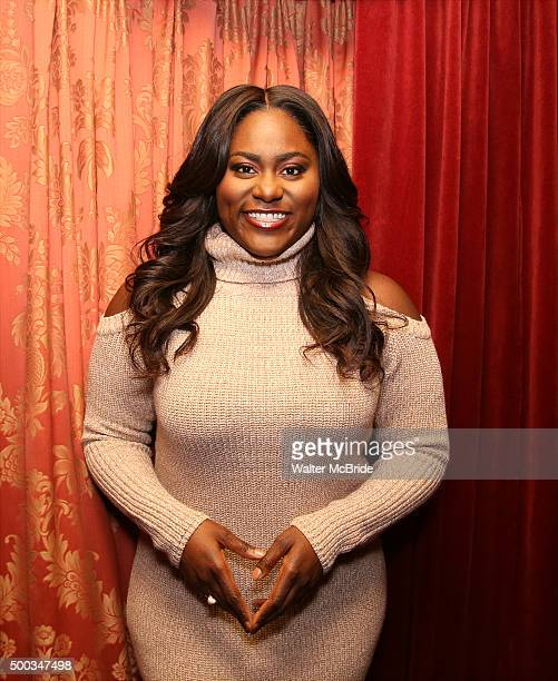 Danielle Brooks starring in 'The Color Purple' photographed at the Bernard B Jacobs Theatre at on December 7 2015 in New York City