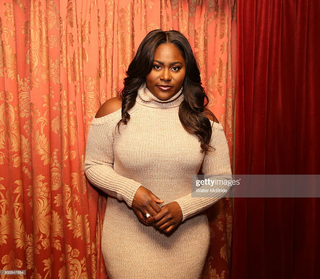 Danielle Brooks starring in 'The Color Purple' photographed at the Bernard B. Jacobs Theatre at on December 7, 2015 in New York City.