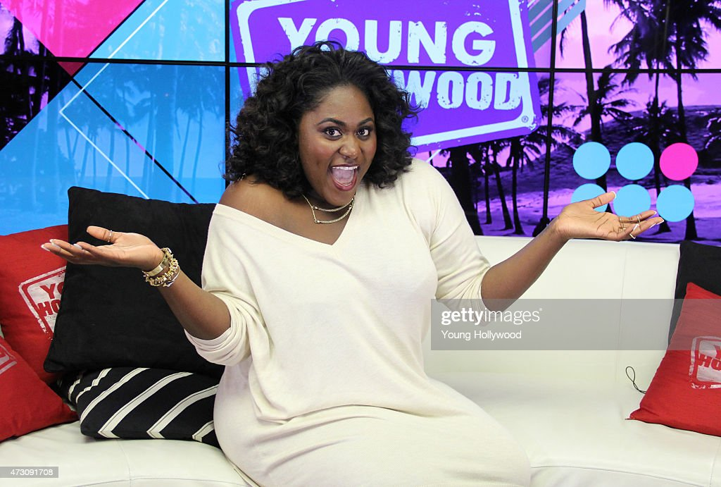 Danielle Brooks Visits Young Hollywood Studio