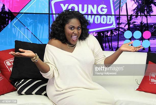 Danielle Brooks visits the Young Hollywood Studio on April 29 2015 in Los Angeles California