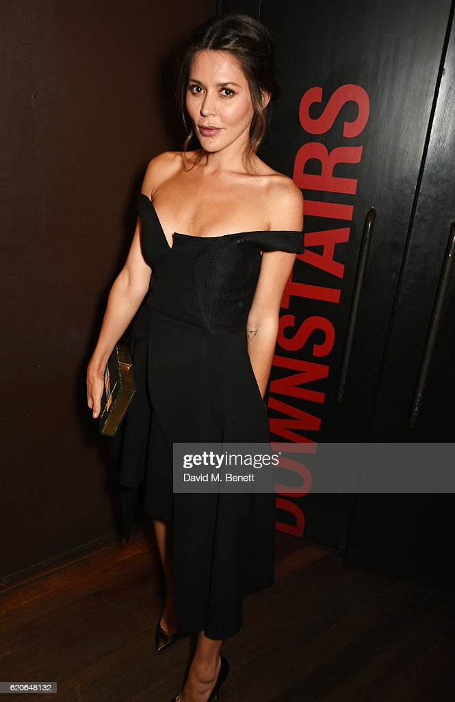 Danielle Bux attends The Bash at The Royal Court Theatre, a gala night of celebration to support the next 60 years of radical new writing, on November 2, 2016 in London, England.