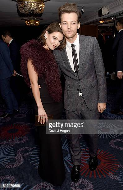 Danielle Campbell and Louis Tomlinson attend the Daily Mirror Pride of Britain Awards in Partnership with TSB at The Grosvenor House Hotel on October...