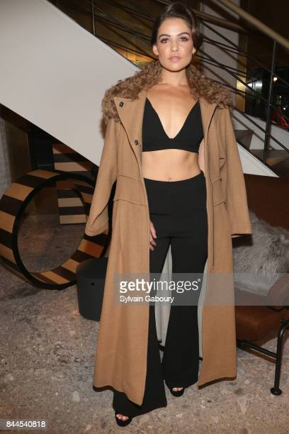 Danielle Campbell attends Max Mara Celebrates Madison Avenue Boutique Reopening on September 8 2017 in New York City